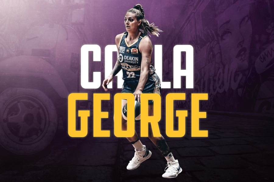 Cayla George and name graphic